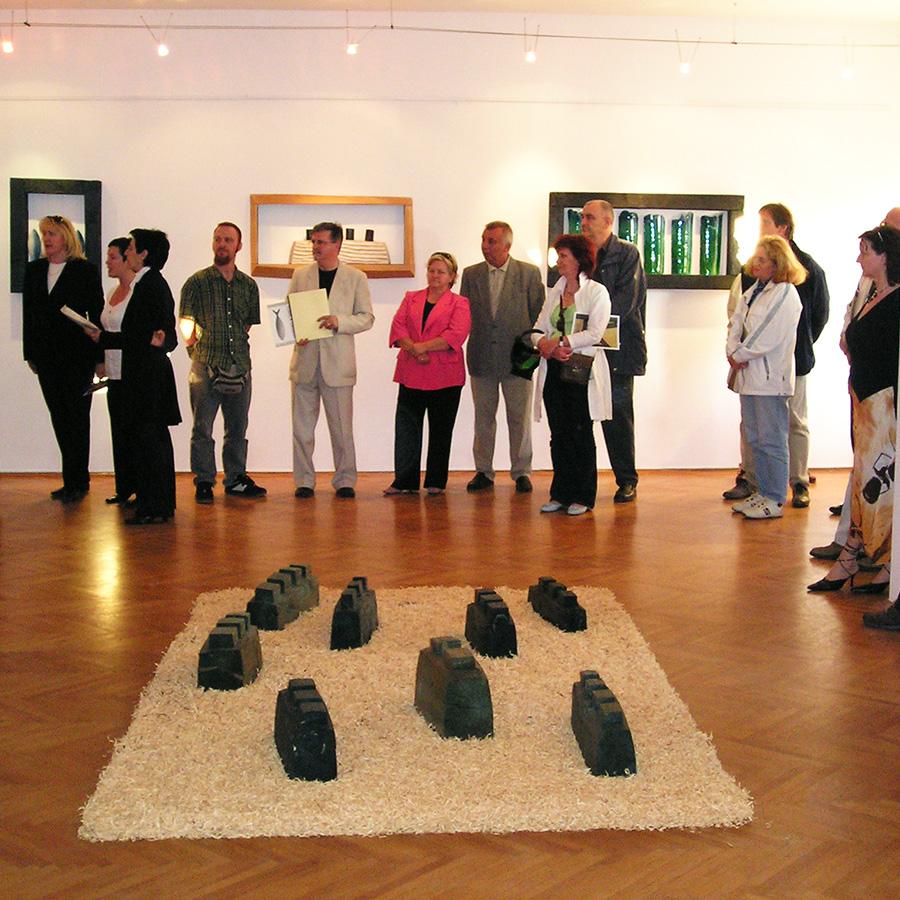 Otvorenje izložbe Tomice Grubiše, Forma Viva Sveti Kuzam