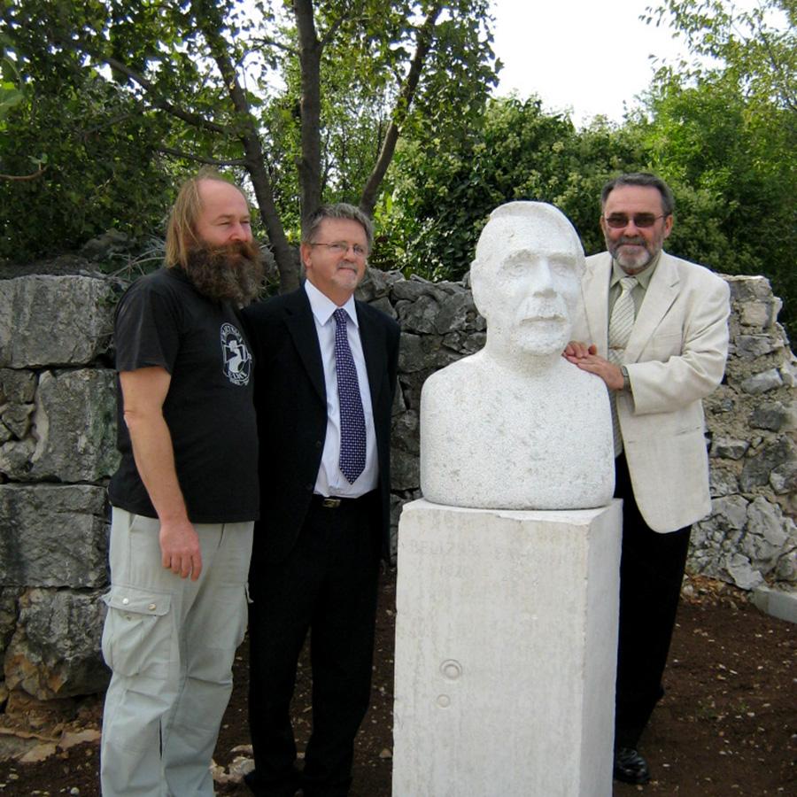 Otkrivanje skulpture Belizar Bahorić autora Dejana kljuna, Forma Viva Sveti Kuzam