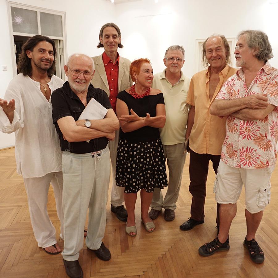 Uzvanici na otvorenju izložbe, Forma Viva Sveti Kuzam