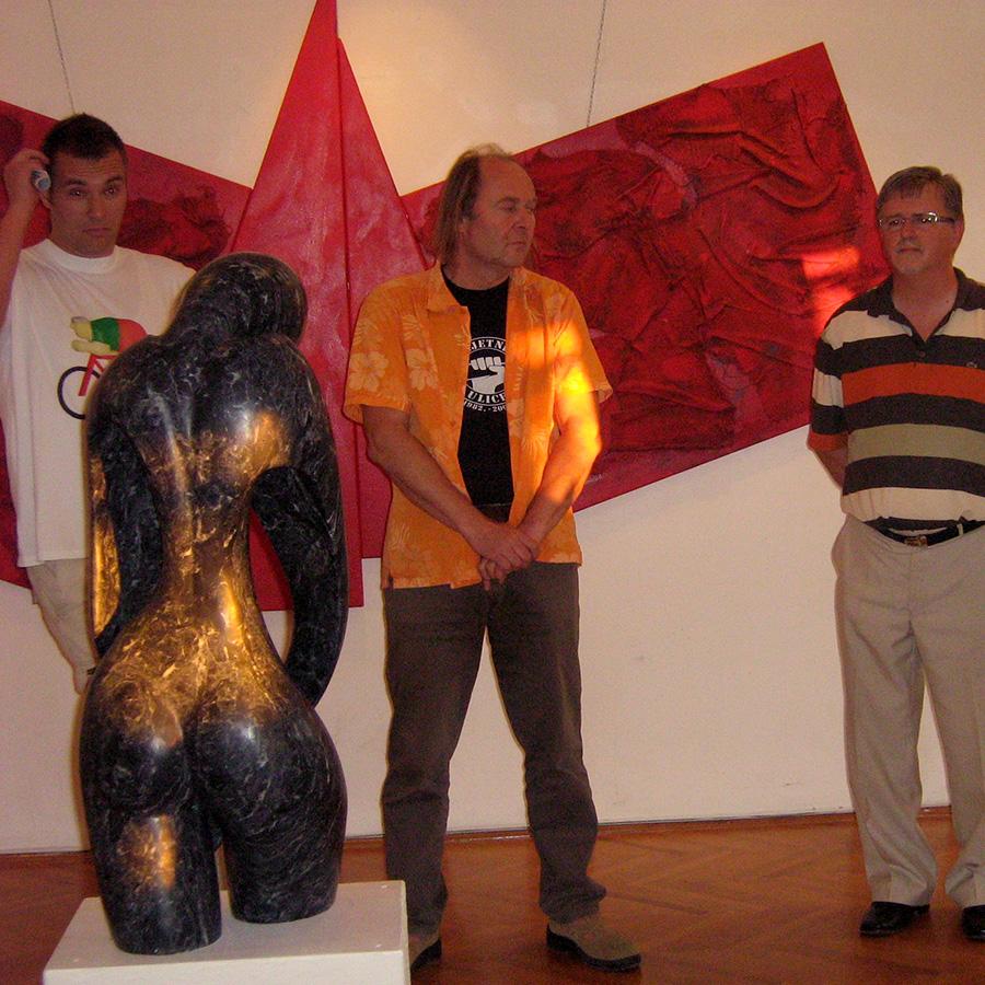 Otvaranje izložbe u Hrvatskom domu Sv. Kuzam